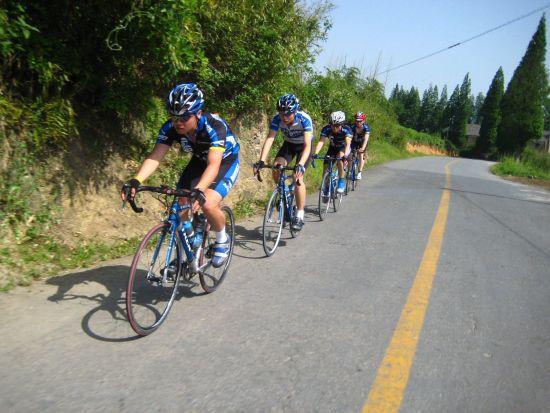 五种户外骑车健身的方法